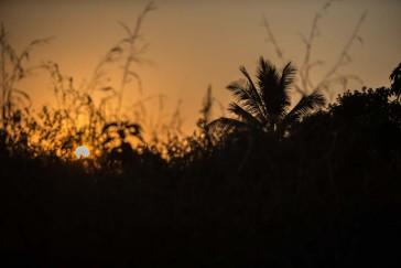 Coucher de soleil sur Macenta