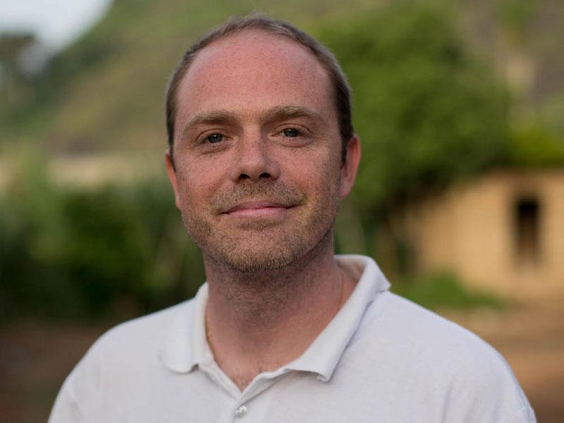 Olivier, chef de la sous-délégation de Forecariah