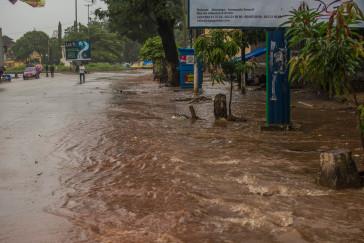 Durant la saison des pluies, la vie en capitale