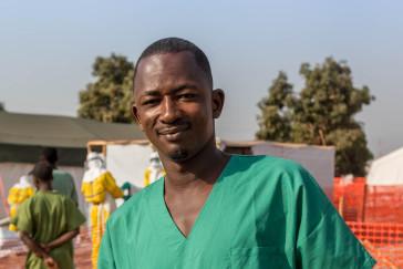 Diallo, hygiéniste à Forecariah